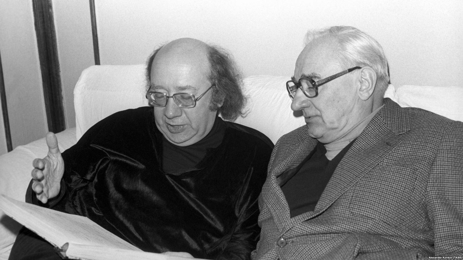 Геннадий Рождественский и Борис Покровский